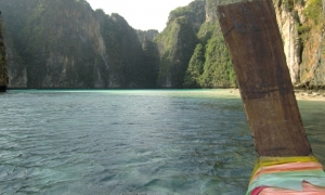 Longtail in Maya Bay