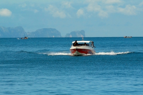 Phang Nga Bay - Diving Speedboat